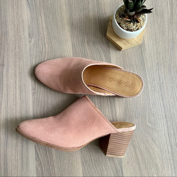 Madewell Shoes | Harper Suede Mules